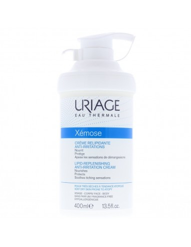 Uriage Xemose Lipid-Replenishing Anti-Irritation Cream 400ml For Face & Body