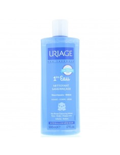 Uriage No-Rinse Cleansing Water 500ml Babies