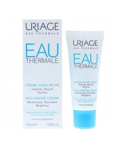 Uriage Eau Thermale Rich Water Cream 40ml Very Dry To Dry Skin