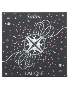 Lalique Satine Eau de Parfum 100ml & Necklace Gift Set For Her Women's EDP New