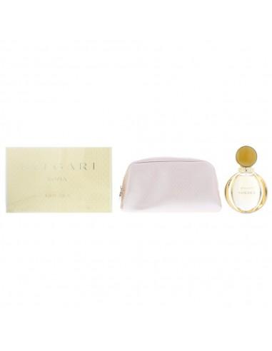 Bvlgari Goldea Eau de Parfum 90ml & Beauty Pouch Gift Set Women's - For Her NEW.
