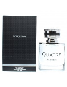 Boucheron Quatre Pour Homme Eau de Toilette 50ml Spray Men's - NEW. For Him EDT
