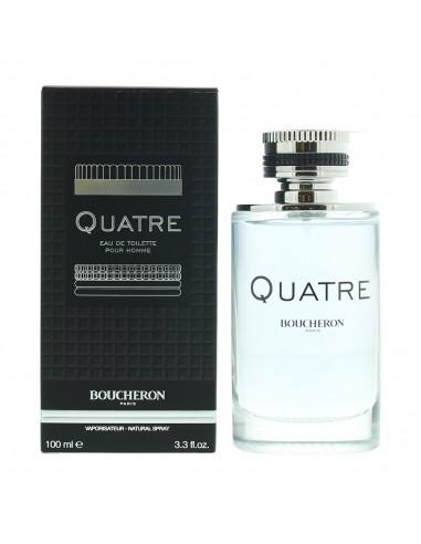 Boucheron Quatre Pour Homme Eau de Toilette 100ml Spray Men's - NEW. For Him