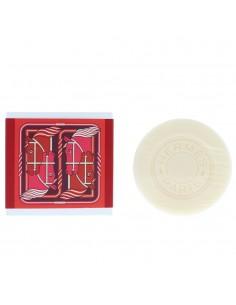 Hermes Eau De Rhubarbe Ecarlate Quadrige Perfumed Soap 100g NEW. Unisex
