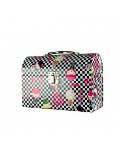 Gwen Stefani Harajuku Lovers Wicked Box - Tin Lunch Box Make-Up Case