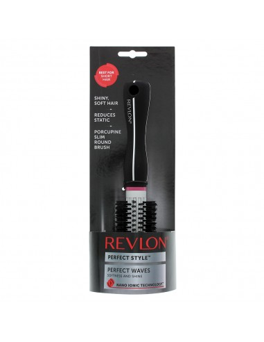 REVLON PERFECT STYLE PORCUPINE SLIM ROUND BRUSH SI