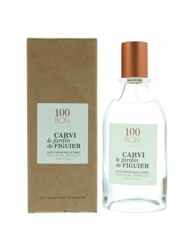 100Bon Carvi & Jardin De Figuier Eau de Parfum Spray 50ml Natural Ingredients